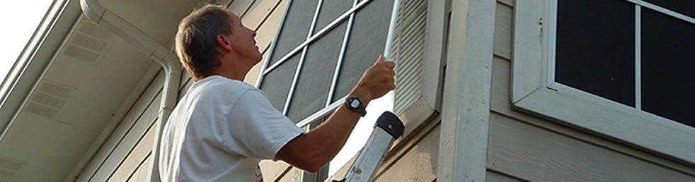 Solar Screen Installation